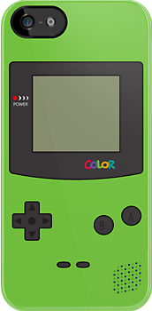 Gameboy Color iPhone/iPad Case! (Kiwi) by Venum Spotah