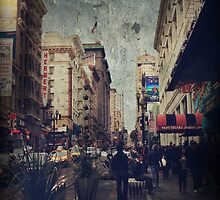 City Sidewalks by Laurie Search