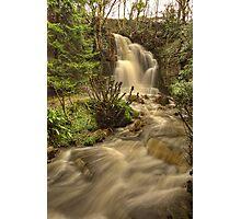Harmby Waterfall Photographic Print