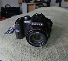 My brand new camera - Panasonic Lumix FZ-150 by Scott Mitchell