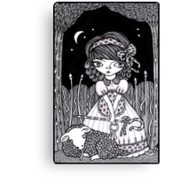 Pouty Miss Peep Canvas Print