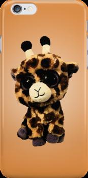 Baby Giraffe Case by Jenifer Jenkins