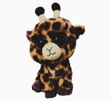 Baby Giraffe Shirt by Jenifer Jenkins