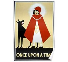 Once Upon a Time art cards and prints Poster