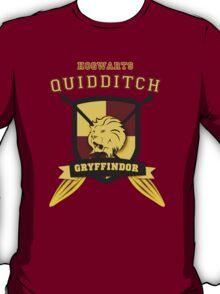 Gryffindor Quidditch (3) T-Shirt