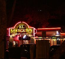 El Mecado - Sign Series - 1st Ave, S. Austin by Jack McCabe