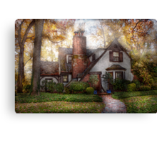 Cottage - Westfield, NJ - Grandma Ridinghoods house Canvas Print