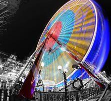 Edinburgh Big Wheel by Chris Cherry
