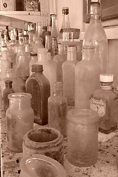 Bottles by eramophla