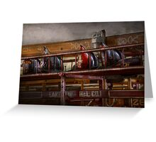 Fireman - Ladder Company 28 Greeting Card