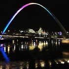 Millennium Bridge - Newcastle/Gateshead by James Kowacz