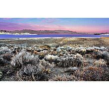 Pyramid Lake at Sundown #5 Photographic Print