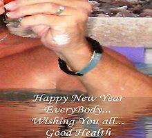 Hau'oli Makahiki Hou - Happy New Year by WhiteDove Studio kj gordon
