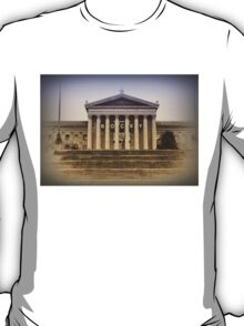Rocky on the Art Museum Steps T-Shirt