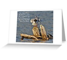 The Platform Dancer Greeting Card