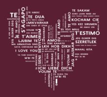 Love in 100 languages by SW7 Design