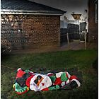 Too Much Eggnog For Santa by Mark Ross
