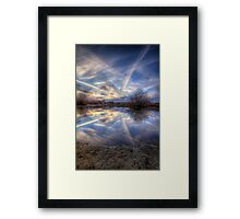 Frequent Nature Miles Framed Print