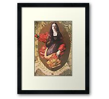 St. Catherine Unleashed  (2 for 1) Framed Print