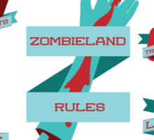 Rules of Zombieland Sticker