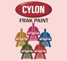 Cylon Frak Paint Kids Clothes