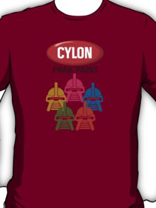 Cylon Frak Paint T-Shirt