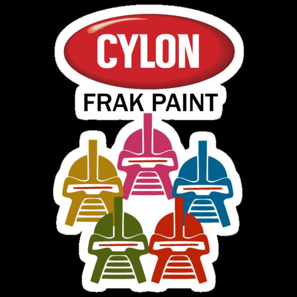 Cylon Frak Paint by mcnasty