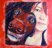 Portrait: Doug a l'orange by Collymack
