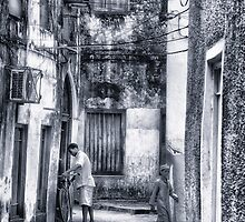 Stone Town Alley by Amyn Nasser