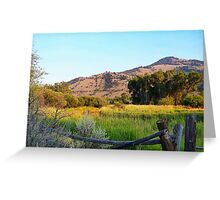 Yankee Flats Greeting Card