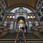 Antwerp, railway station by Adri  Padmos
