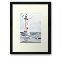 Empty Shores Framed Print