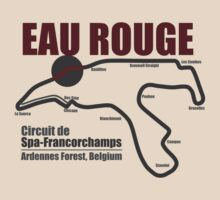 Spa-Francorchamps - Eau Rouge (Light Shirts) by oawan