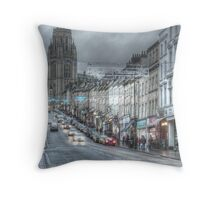 Bristol University and Park Street, Bristol. Throw Pillow