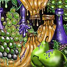 """Grapes, Bananas, & Pears....Oh My!!!"" by Steve Farr"