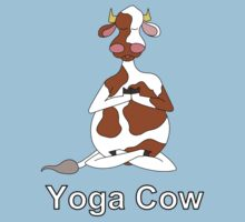 Yoga Cow by uddertees