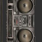 Retro Boombox  by CalumCJL