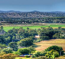 Patchwork - Jugiong, NSW Australia (30 Exposure Panorama) - The HDR Experience by Philip Johnson