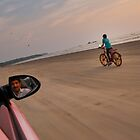 Driving on the Beach (Alternative) by AjayP
