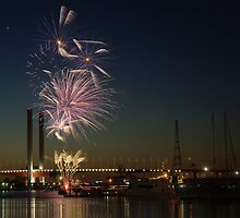 New Year's Eve 2011 at Docklands I by Andrejs Jaudzems