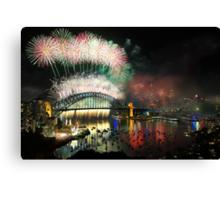 Sydney 2012 Canvas Print