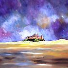 Bamburgh castle by Ivor