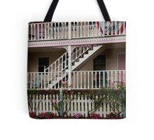 Decks, Railings And Stairs Tote Bag