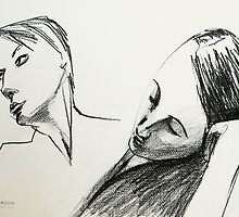 two faces in the drawing room by donnamalone