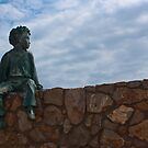 Statue L'Escala, Spain by dozzie