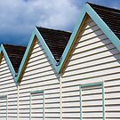 Brighton Beach Huts by dozzie