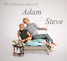 The Fabulous Antics of Adam and Steve by Sniperphotog