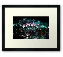 Simply The Best ! - Sydney NYE Fireworks  #3 Framed Print