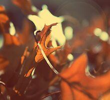 Winter Leaves by FRO7EN