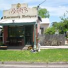 Learmonth Antiques former Bootas hairdressers by learmonth